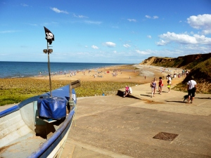 West Runton Beach, North Norfolk, UK